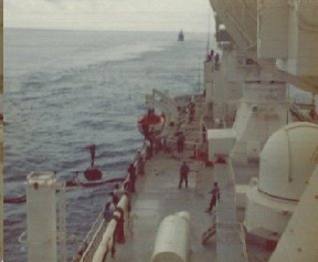 Refueling by USS Sacramento
