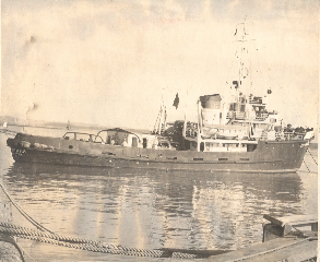 Russian  Trawler,Wakkanai, Japan